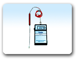 DIGITAL TEMPERATURE INDICATORS BATTERY OPERATED (PORTABLE TYPE)